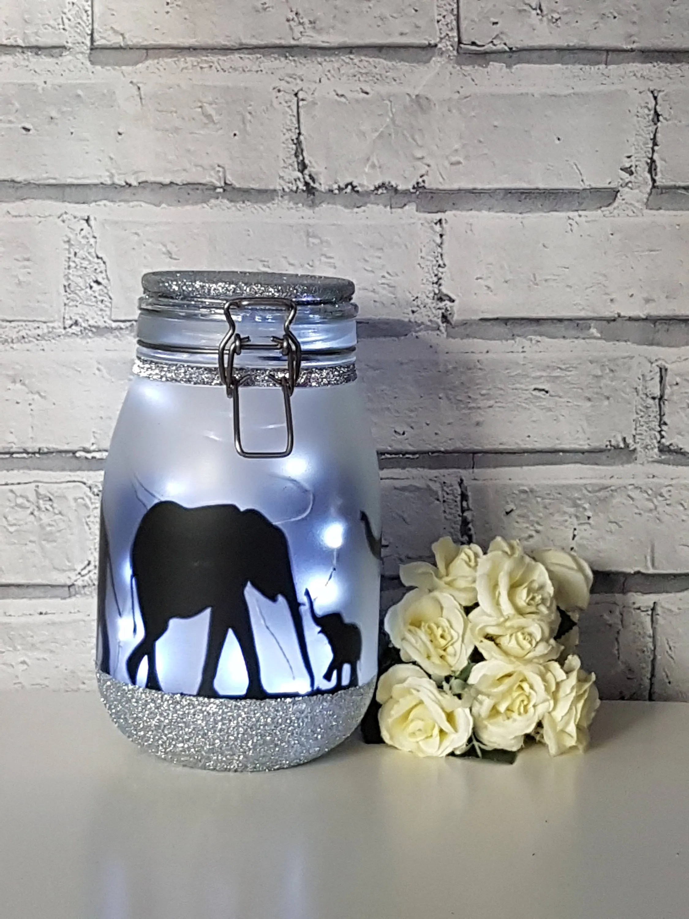 Elephant Night Light Elephant Night Light Elephant Lamp Elephant Decorelephant
