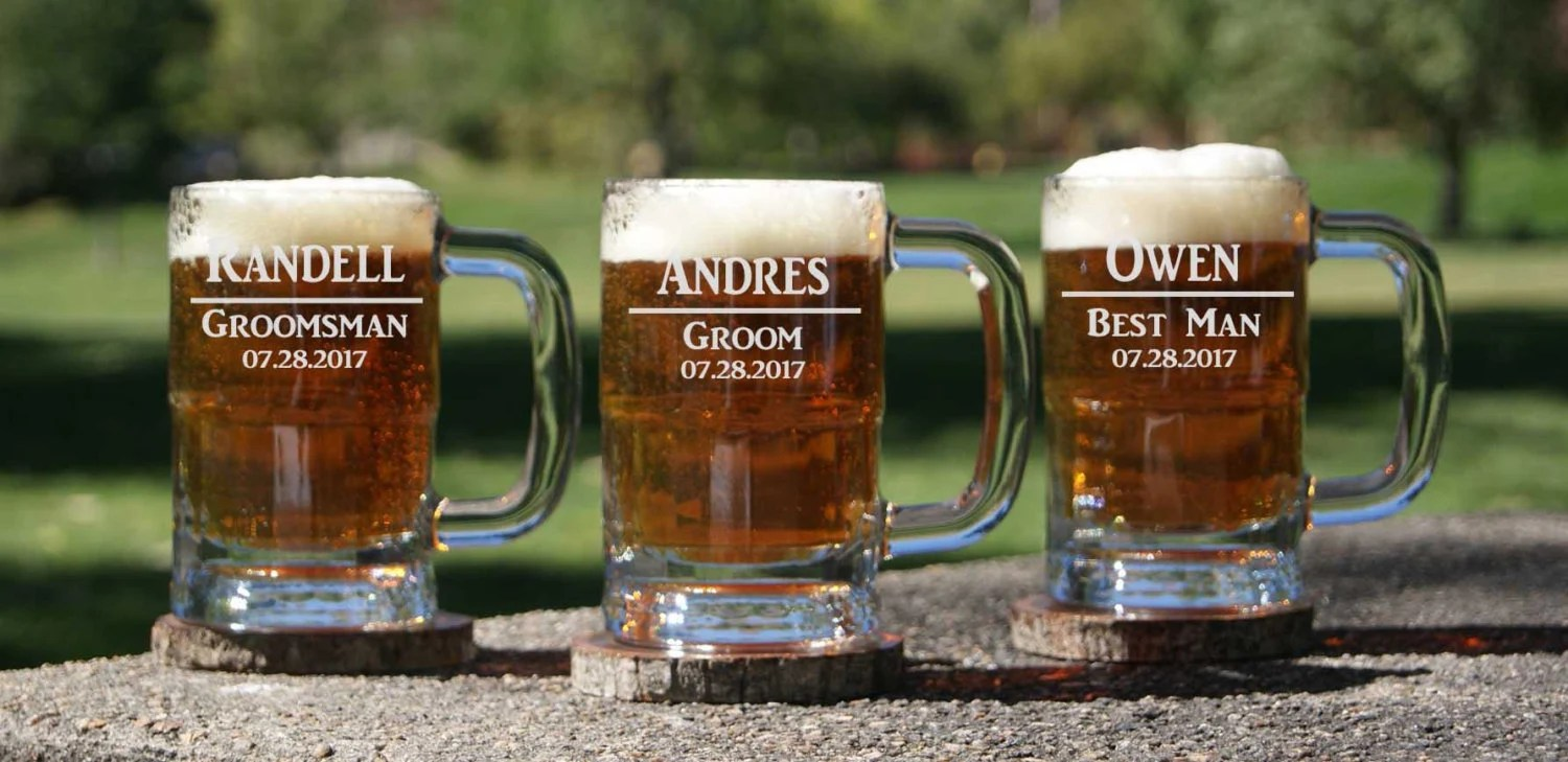 Fullsize Of Personalized Beer Glasses
