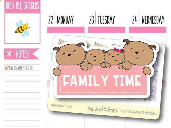 family time planner