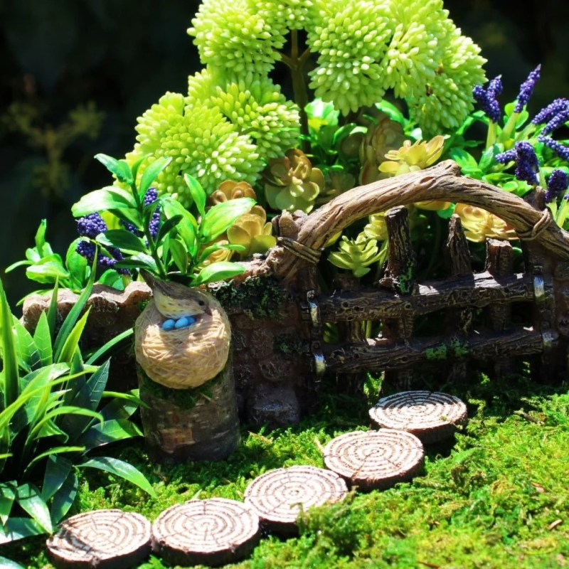 Large Of Outdoor Miniature Garden