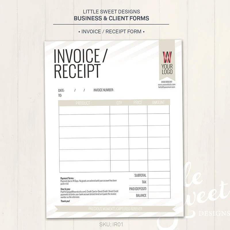 sample of invoice receipt - Minimfagency