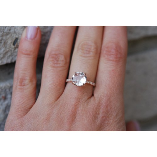 Medium Crop Of Round Engagement Rings