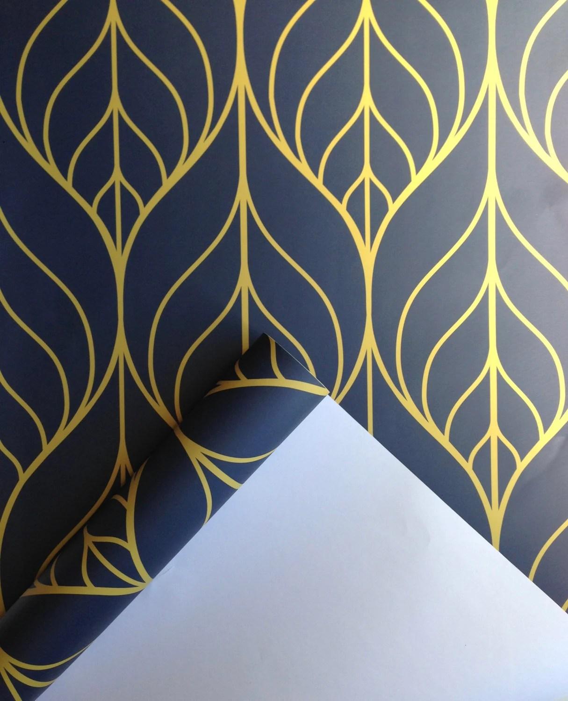 Removable Wallpaper Leaf wallpaper wallpaper Peel and stick