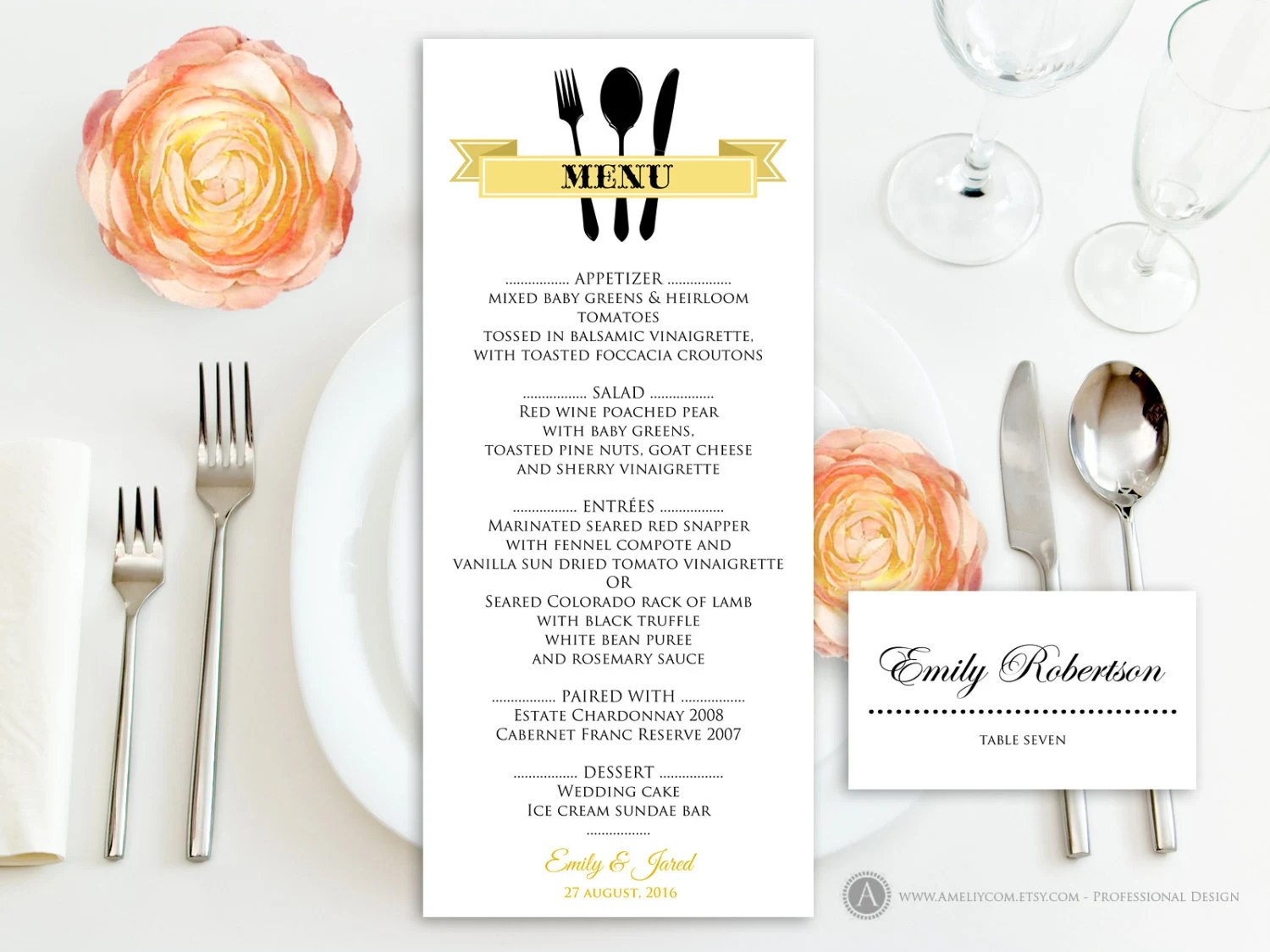place cards template free download - Manqalhellenes - wedding place cards template free