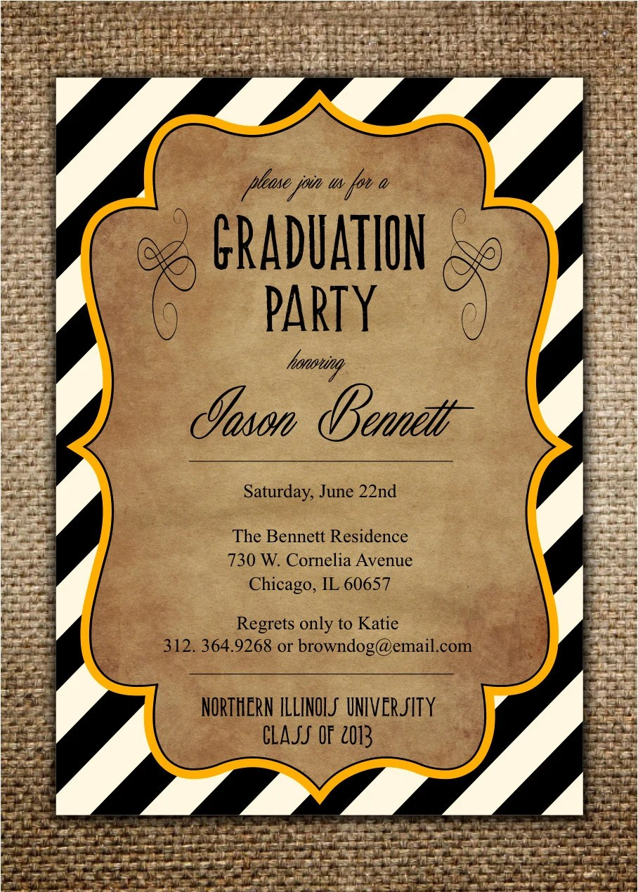 college graduation party invitations - Selol-ink - senior party invitations