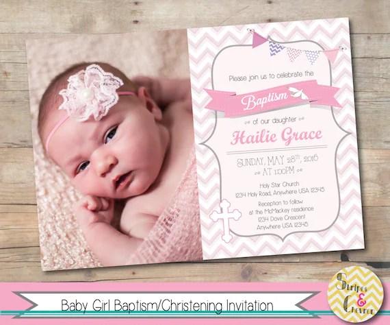 girl baptism invitations - Towerssconstruction