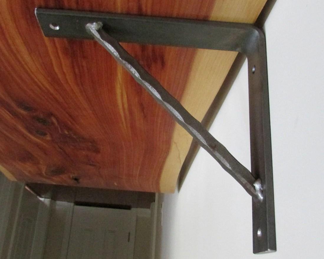 Handmade Heavy Duty Metal Bracket Corbel For Book Shelf