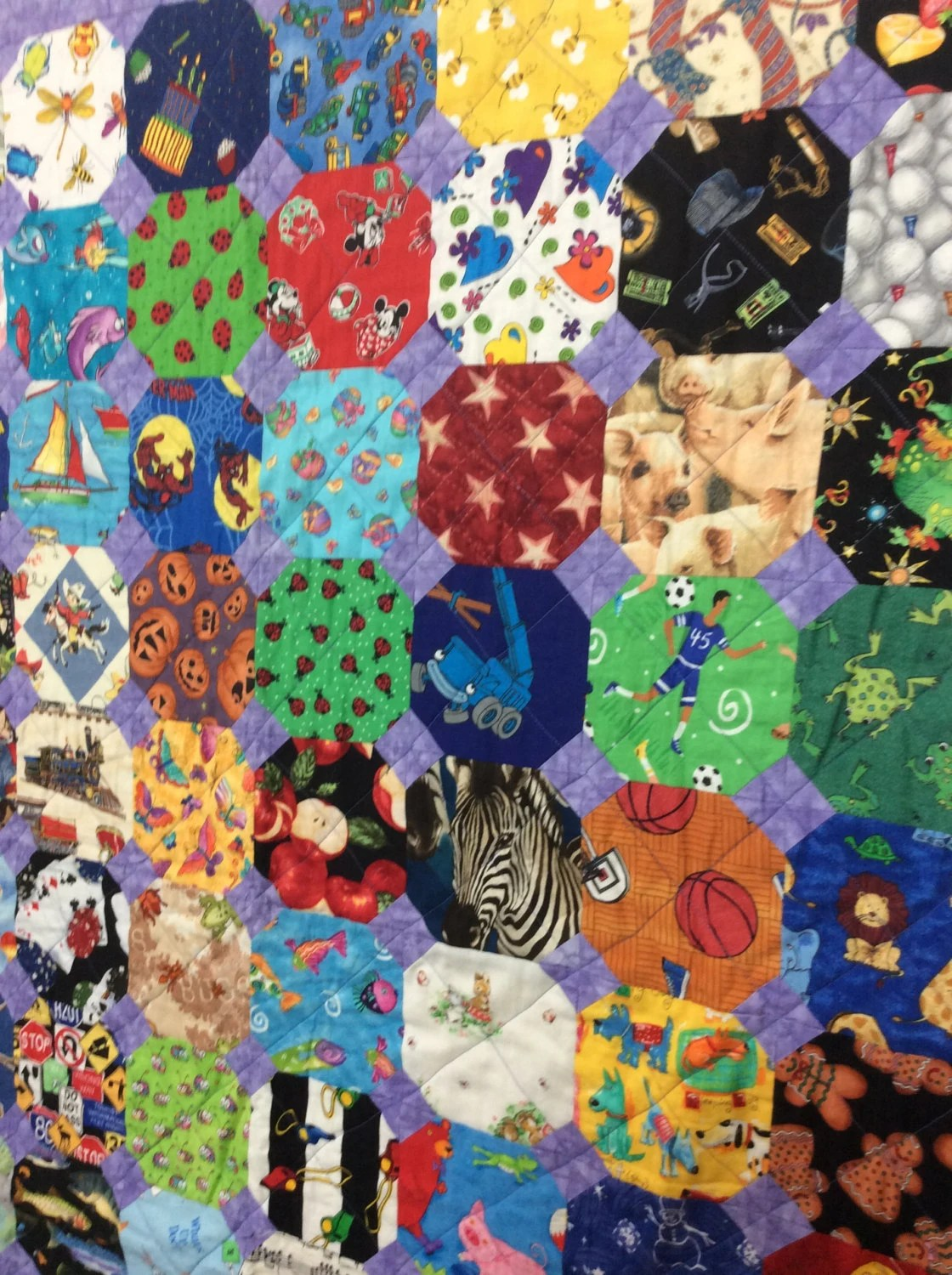 Baby Quilts Handmade Snowball I Spy Quilt Pattern Kids Quilts Novelty Fabric