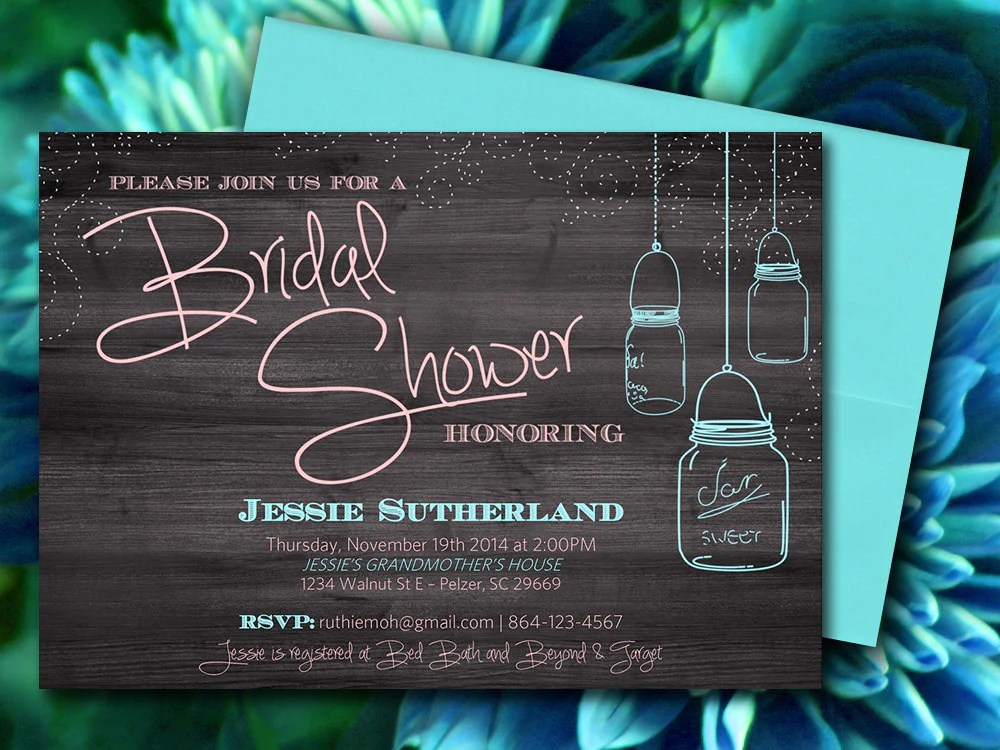 free printable bridal shower invitation templates for word - Alan
