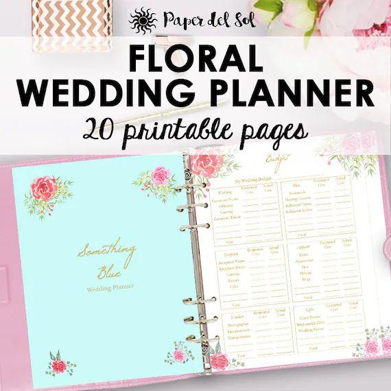 wedding planning sheets