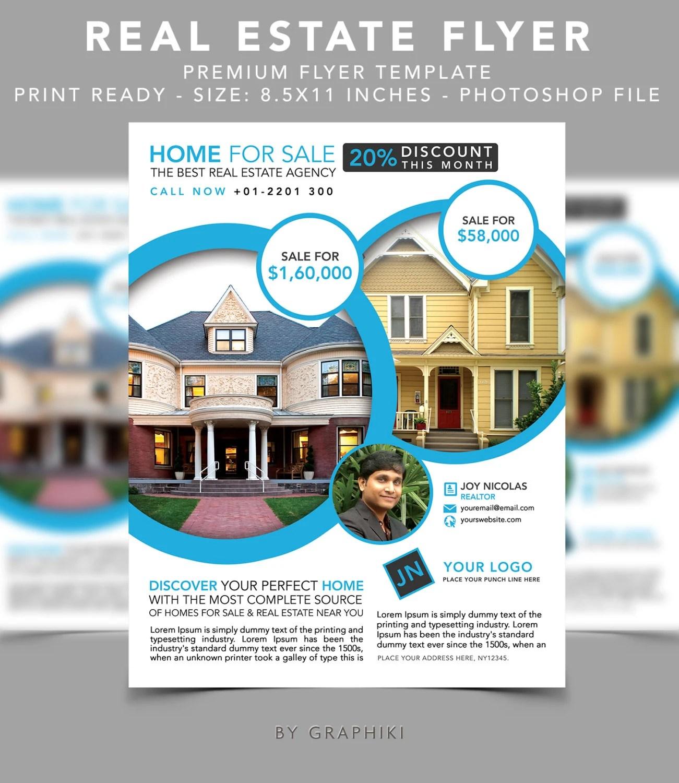 houses for sale flyers - Solidpapion