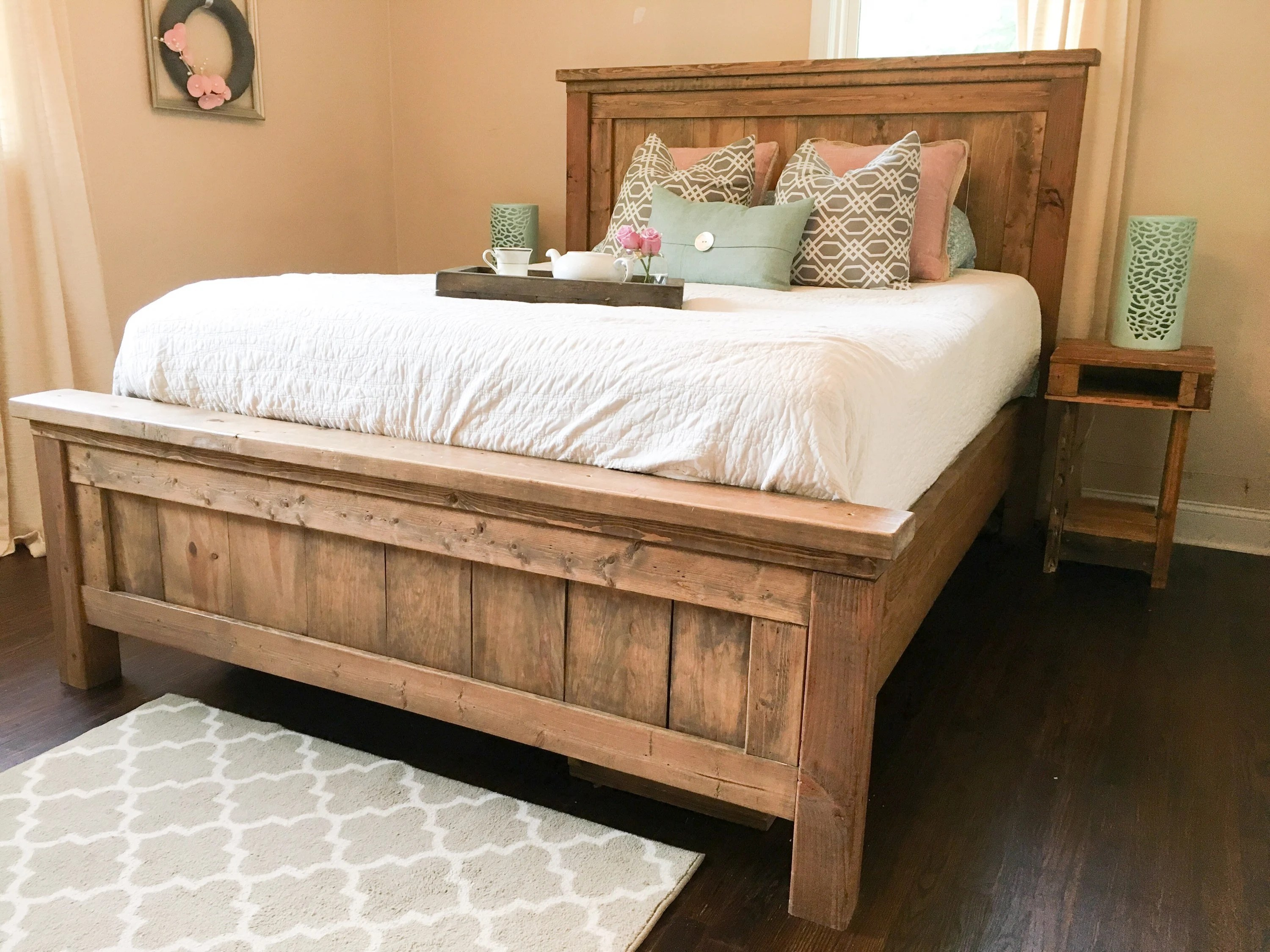 Farmhouse Contact Number Farmhouse Bed Rustic Furniture Wooden Bed Please Contact