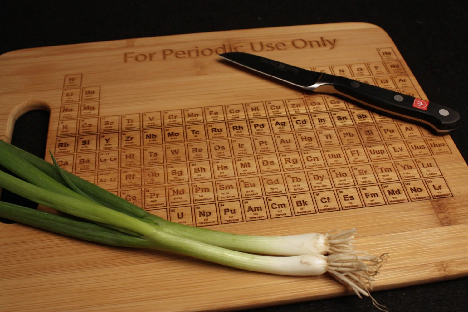 I Use This Cutting Board Periodically Periodic Table Cutting Board 9x13 Chemistry Science Gift For