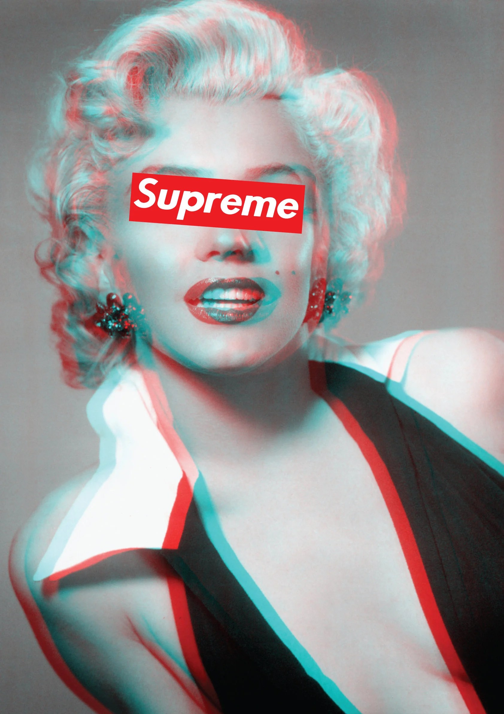 Skateboard Girl Wallpaper Marilyn Monroe Supreme Classic Iconic Poster A1 Large Glossy