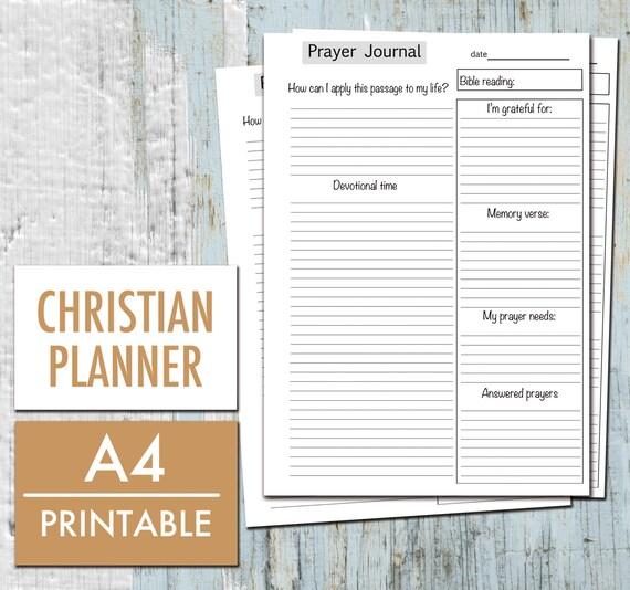 journaling template