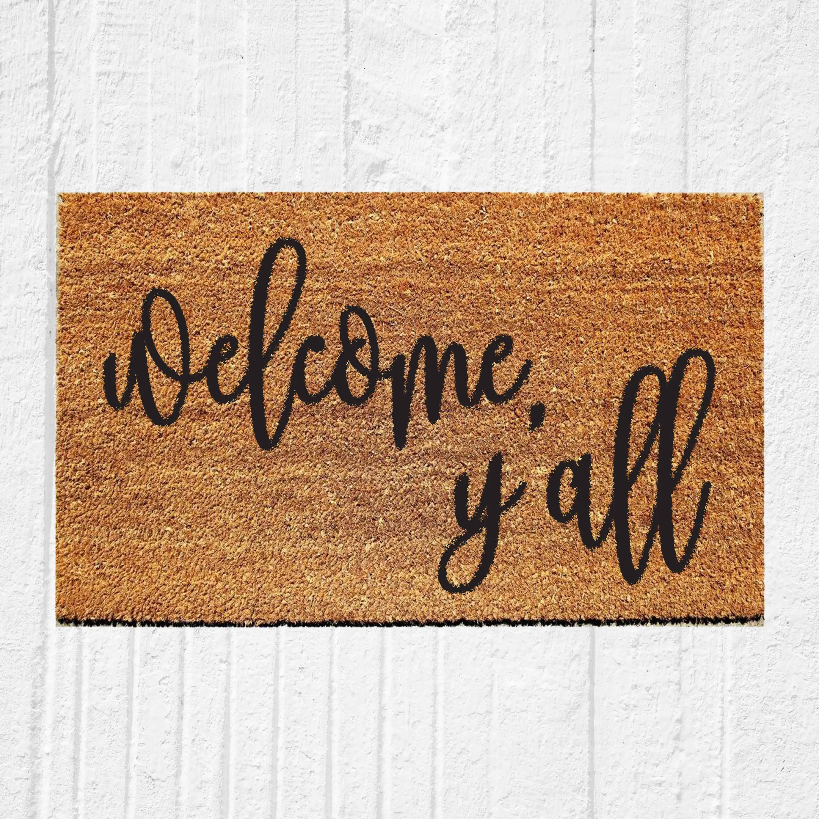 Leave Welcome Mat Welcome Y 39all Doormat Welcome Doormat Hostess