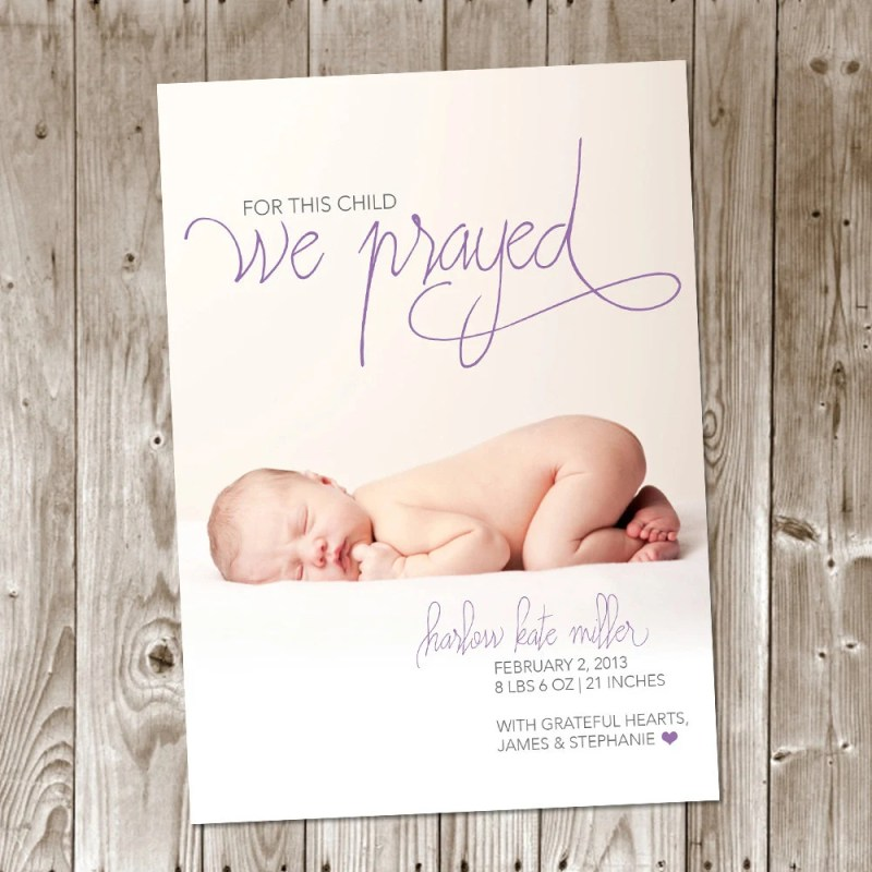 Large Of Birth Announcement Wording