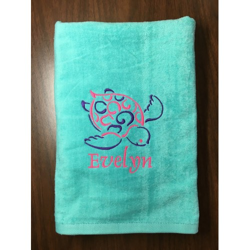 Medium Crop Of Personalized Beach Towels
