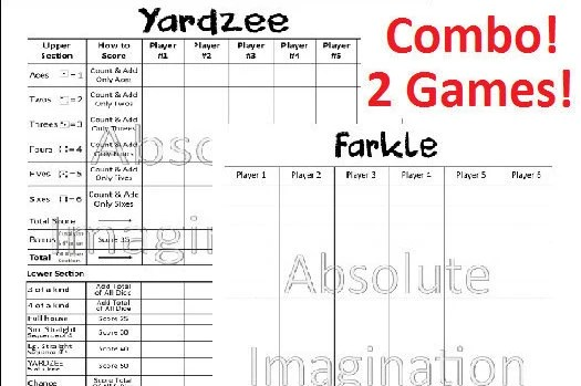 picture about Yardzee Printable called Yardzee Ranking Card - Resume Illustrations Resume Template
