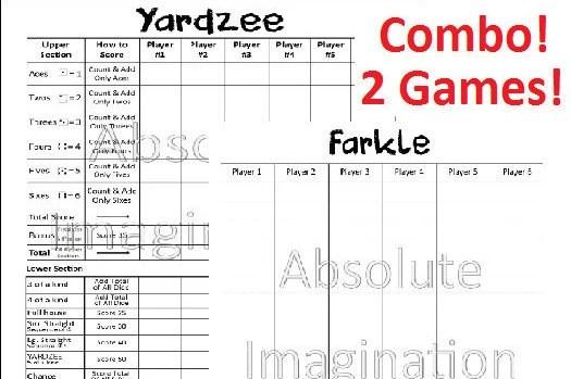 picture relating to Yardzee Printable titled Yardzee Ranking Card - Resume Illustrations Resume Template