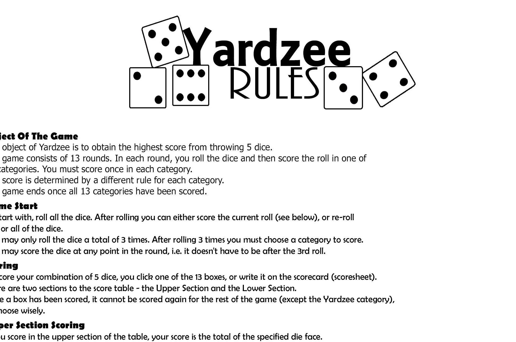 Where To Buy Yahtzee Score Sheet - Okerwhyanythingphase 10 score