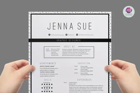 template for resume references