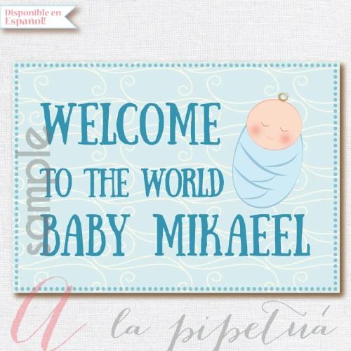 Medium Crop Of Welcome Baby Boy