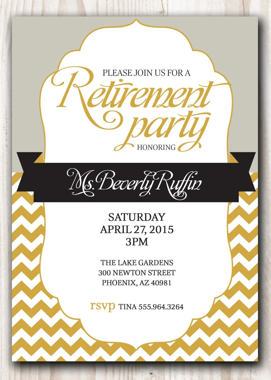 retirement invitation ideas - Goalgoodwinmetals - retirement invitation templates free printable