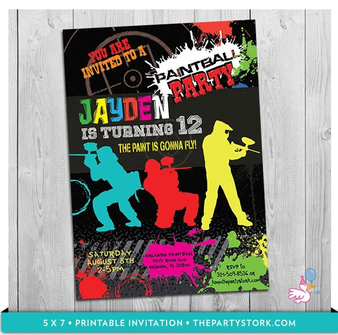 13th birthday party invitations for boys - Towerssconstruction