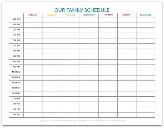 schedule chart - Bogasgardenstaging