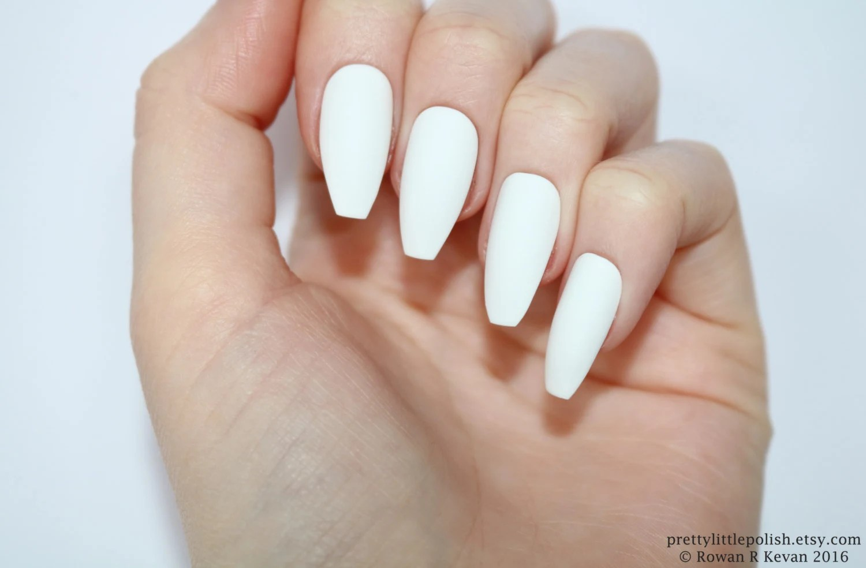 White Nails Best White Flower Nails Idea Summer Nail Designs For