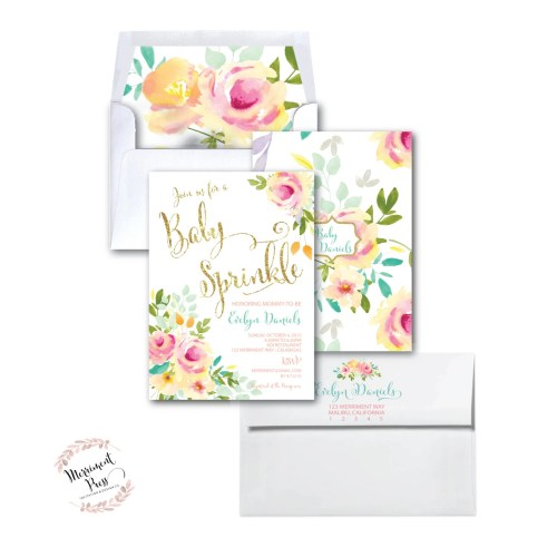 Medium Crop Of Baby Sprinkle Invitations