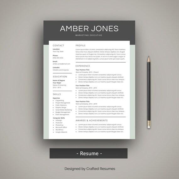 modern resume template design - Alannoscrapleftbehind