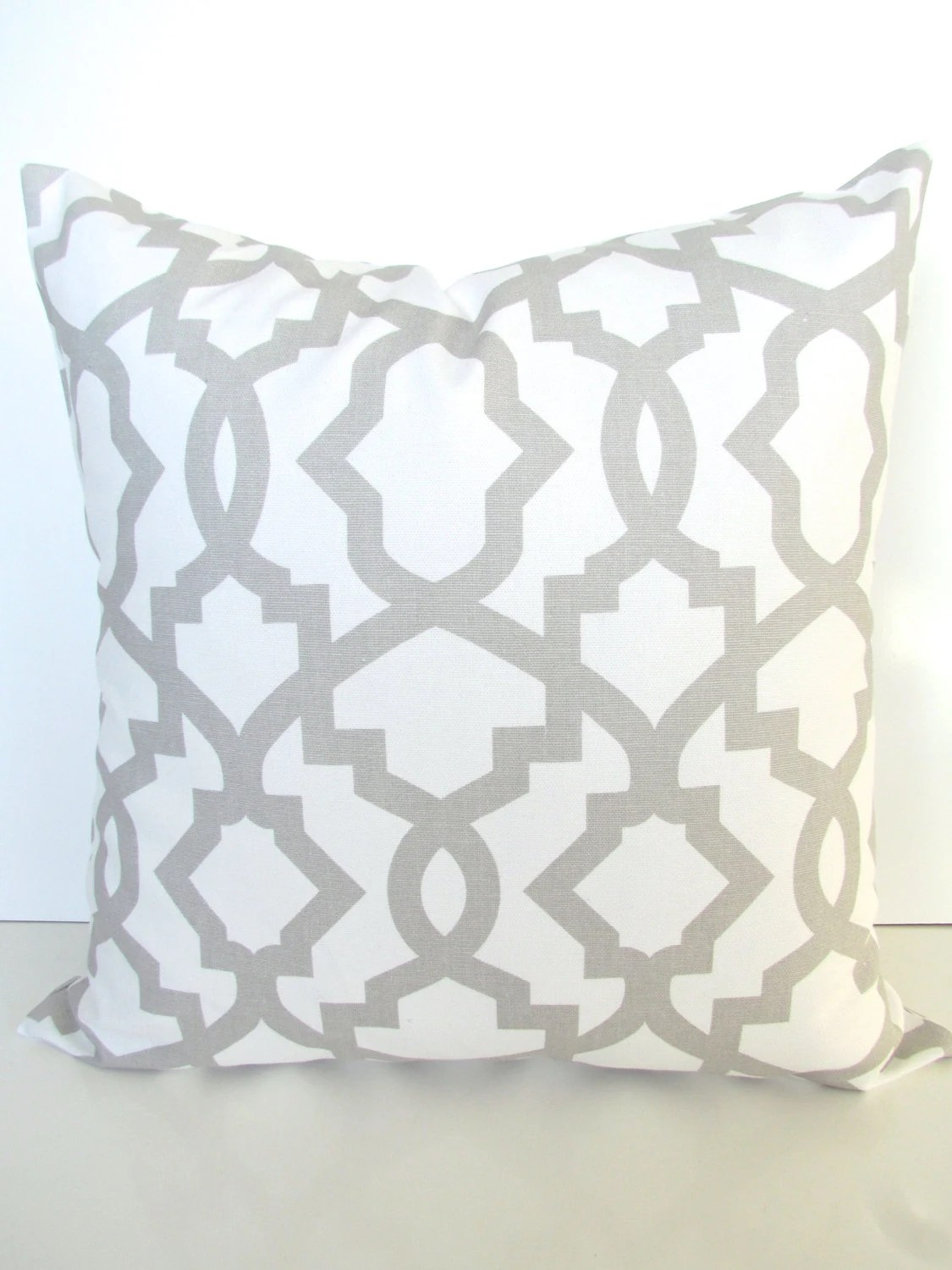 Gray Pillow Gray Throw Pillows French Gray Pillow Covers Light
