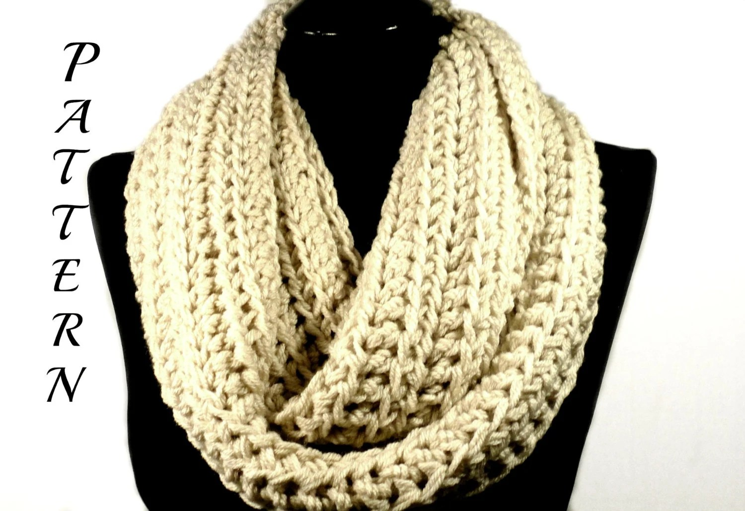 Crochet Pattern For Infinity Scarf Unique Design Pattern