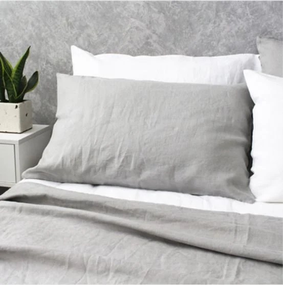 Can You Put A Comforter In A Duvet Cover Stone Grey Linen Duvet Cover Queen Duvet Cover Linen Duvet