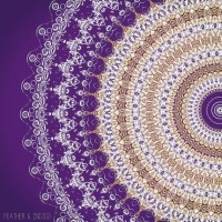 Purple wall art | Etsy