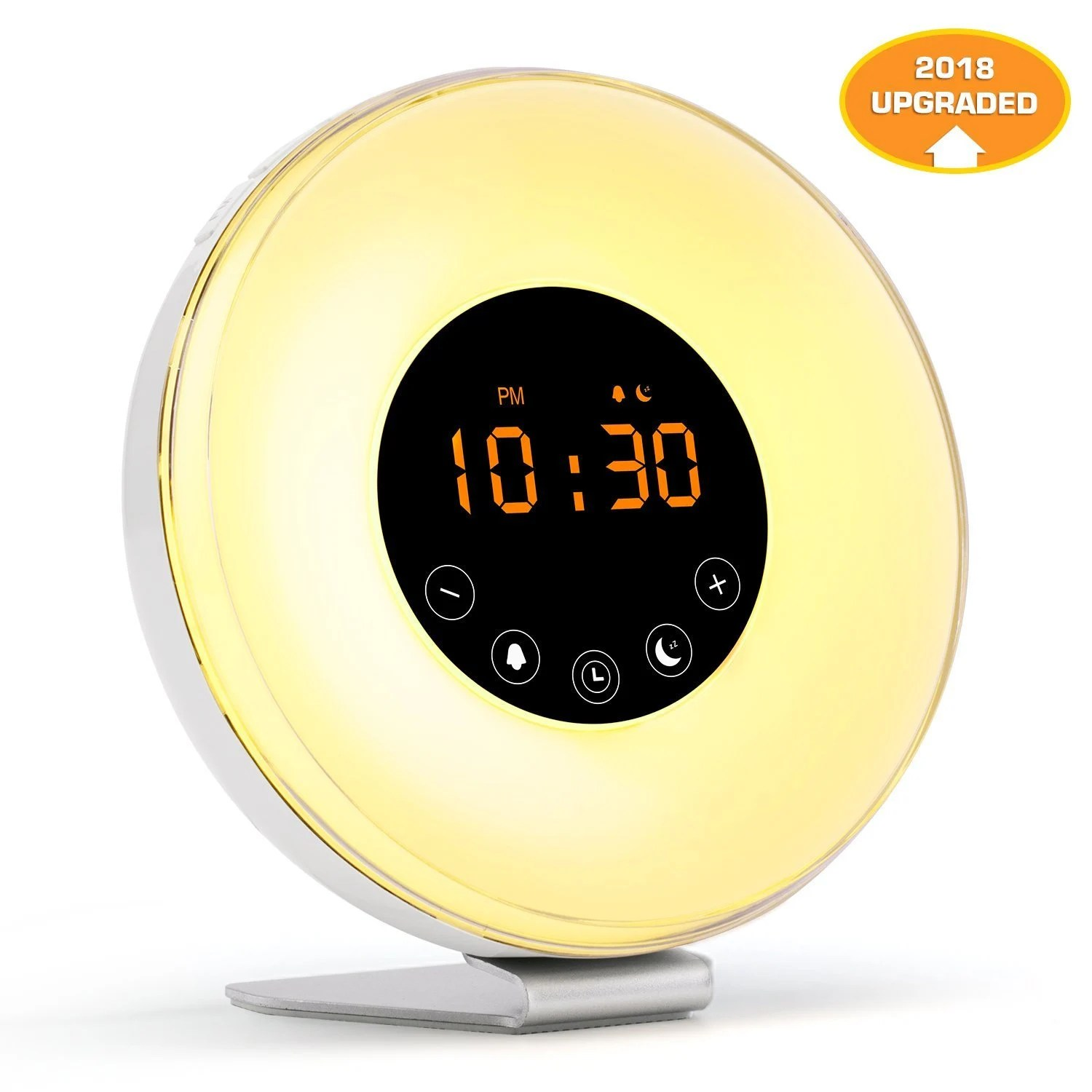 Digital Clock For Sale Sale Sunrise Alarm Clock Radio Wake Up Light Digital Clock With 6 Nature Sounds Radio