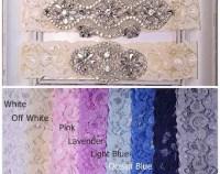 Wedding garter sets   Etsy