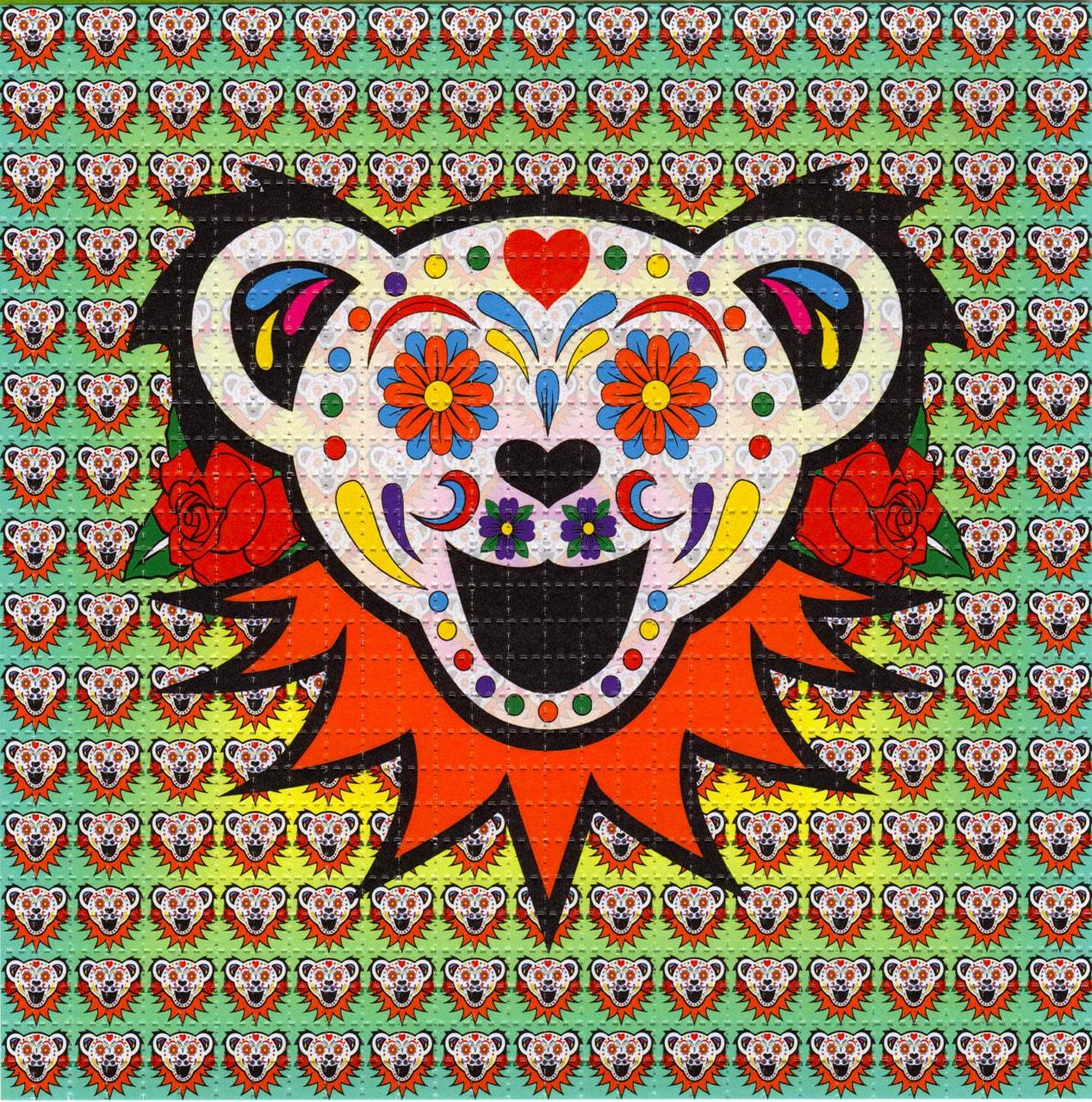 Phish Hd Wallpaper Sugar Bear Grateful Dead Blotter Art Perforated Acid Art