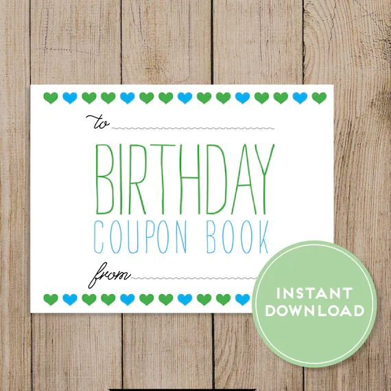 how to make a coupon book for boyfriend