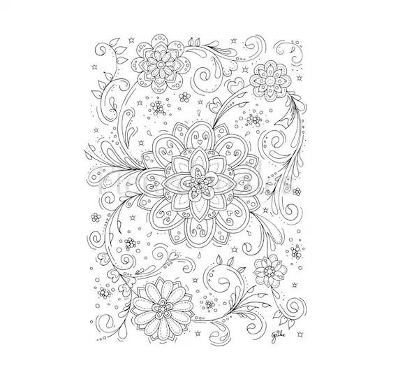 swirls coloring page - Kordurmoorddiner