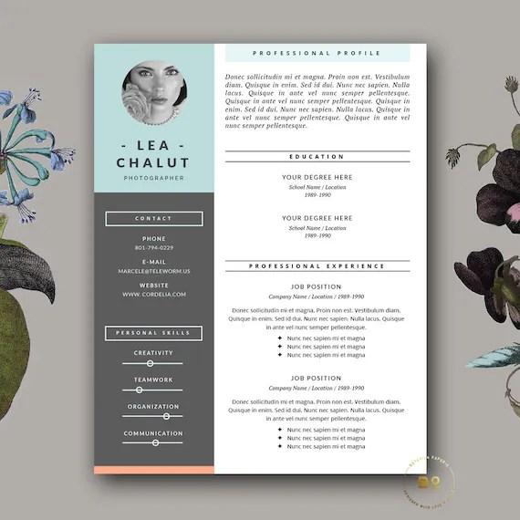 title cv design