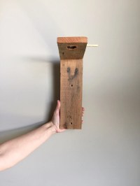 air plant wall holder reclaimed wood wood wall dcor wood
