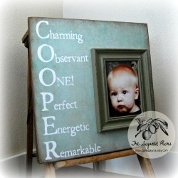 Salient Dad Personalized Baby Name Custom Children Photo Personalizedframe Nursery Personalized Baby Name Custom Children Photo Frame Personalized Frames Etsy Personalized Frames