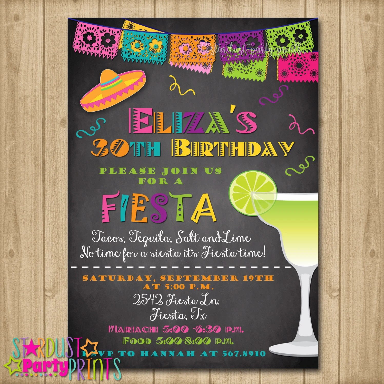 mexican themed invitations free