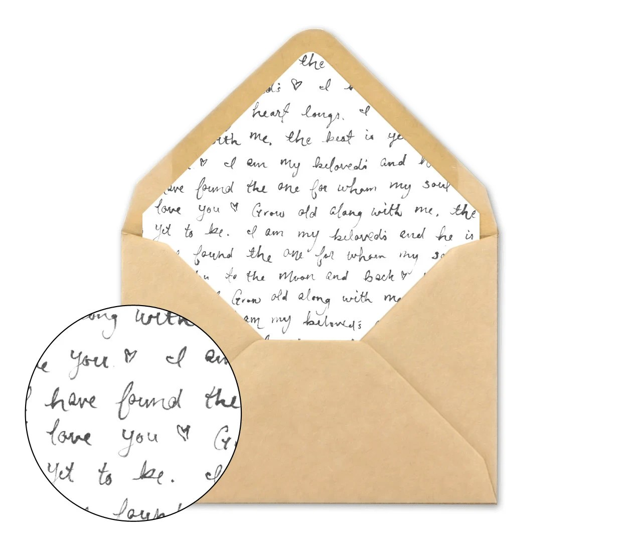 a7 wedding envelopes - Yenimescale - a7 envelope liner template