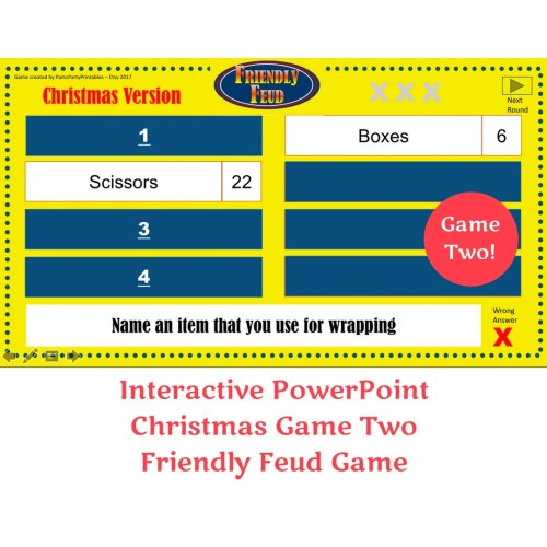 Medium Crop Of Christmas Family Feud