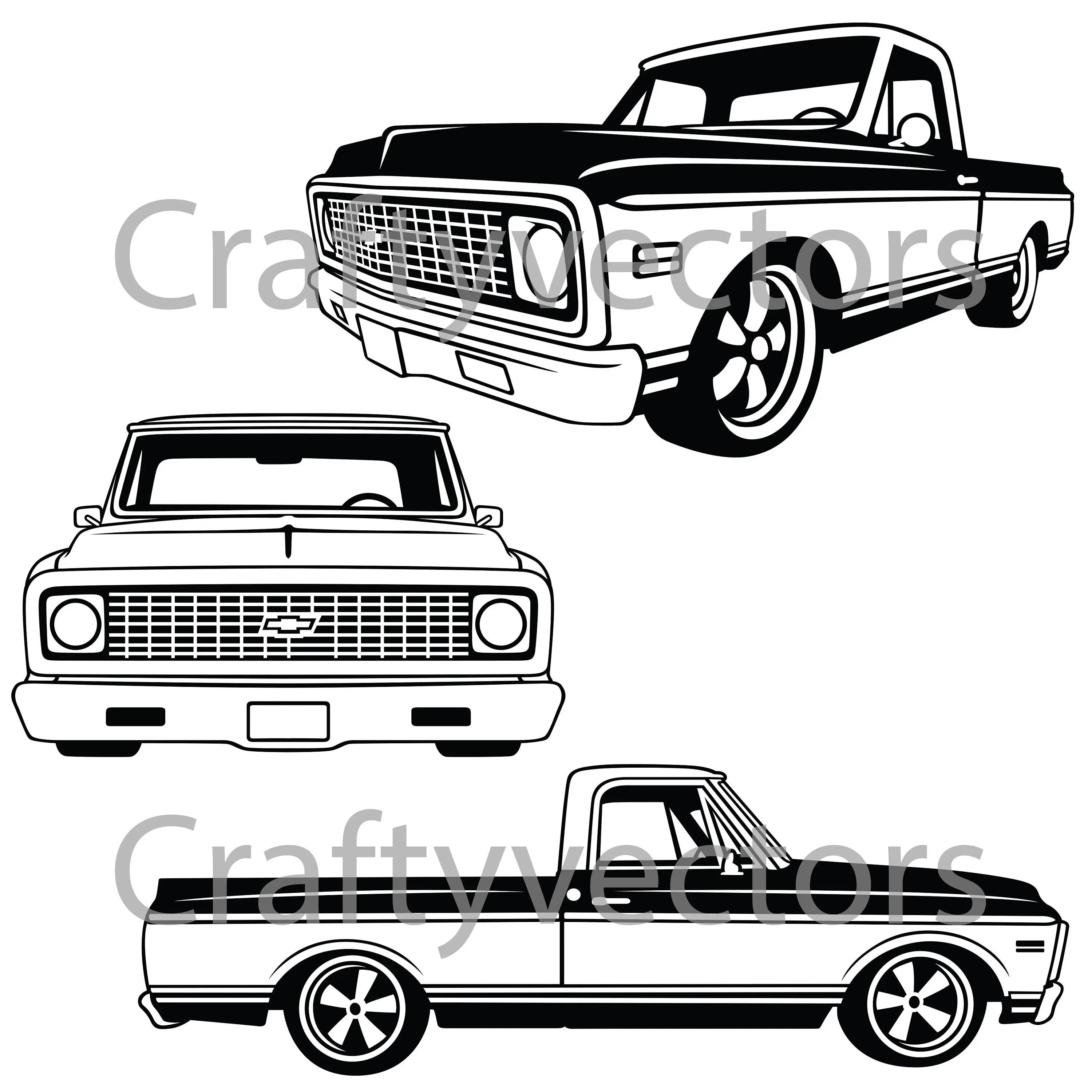1963 chevy c10 stepside truck
