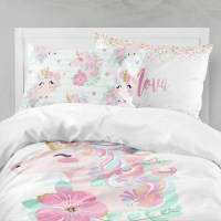 Unicorn Girls Room Unicorn Girls Bedding Toddler Duvet